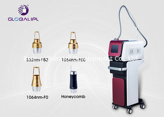 Nd Yag Laser Tattoo Removal Equipment Pico Laser Beauty Machine 1064nm / 532nm Wavelength