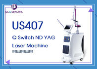 Chine Q- Commutez le retrait 1064nm 532nm de tatouage de couleur de machine de laser de ND YAG usine