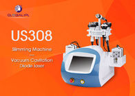 CE Approved 6 In 1 Ultrasonic Cavitation Slimming Machine Wind And Water Cooling System