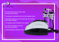 Portable Multifuction 5 In 1 RF Cavitation Slimming Machine 1 - 10J RF Intensity