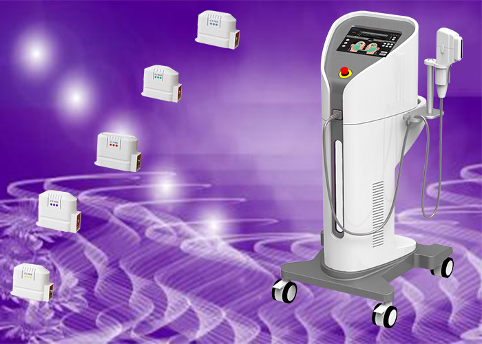 Professional HIFU Machine / Non Surgical Ultrasonic Face Lift Machine For Home