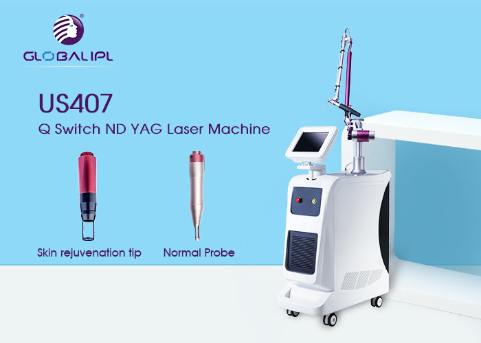 Single Pulse ND YAG Laser Machine 532nm For Pigment Depossit Dispelling