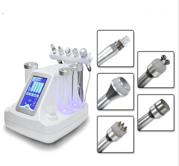 Non - Invasive Water Oxygen Jet Peel Machine 5 Headpieces For All Skin Type