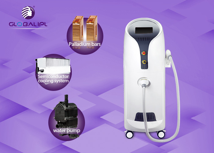 Professional Painfree Whole Body Hair Removal Diode Laser Beauty Machine