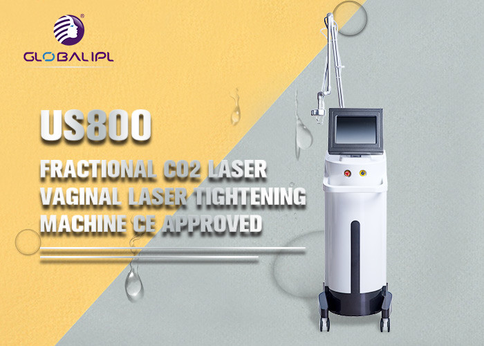 Professional Fractional CO2 10600nm Laser Female Orgasm Device Vaginal Tightening Machine