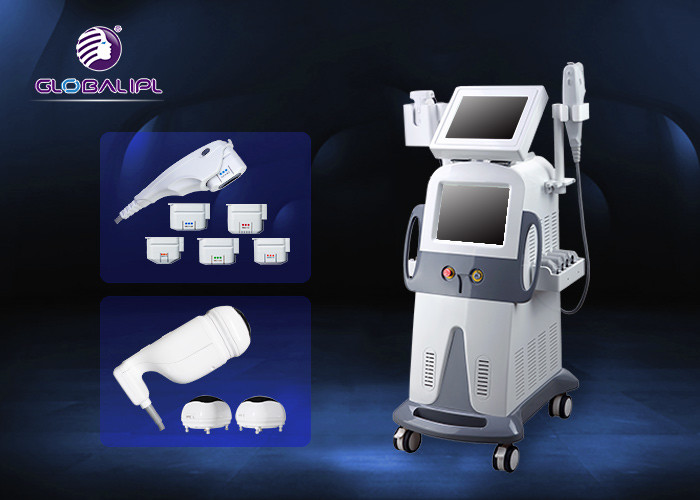 Beauty Salon 200W Hifu Machine Wrinkle Removal Slimming Machine Air Cooling