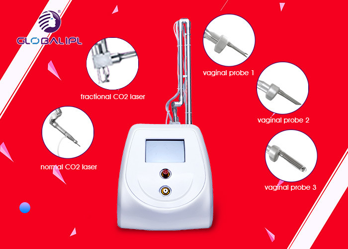 220V / 110V CO2 Fractional Laser , 30W Laser Beauty Machine For Scar Removal