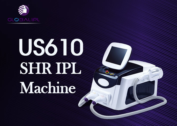 Wrinkle Removal SHR IPL Machine Portable With USA SHR Lamp