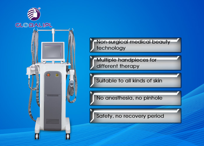 Small RF 940nm Vacuum Slimming Treatment Machine For Body Contouring