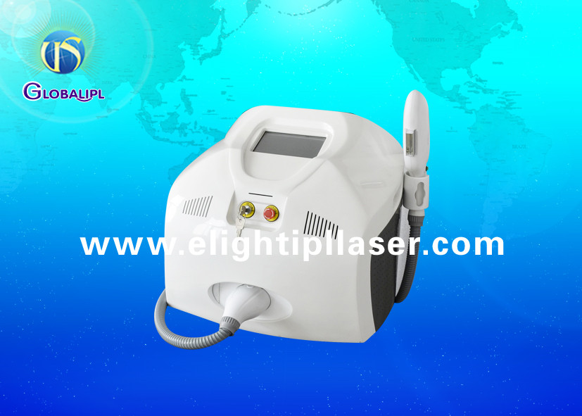 Portable Hair Removal IPL RF Beauty Equipment With Hand / Foot Touch 10 MHz