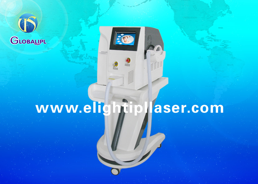 Home E Light RF Beauty Equipment , Arms / Legs IPL Laser Hair Removal Machine