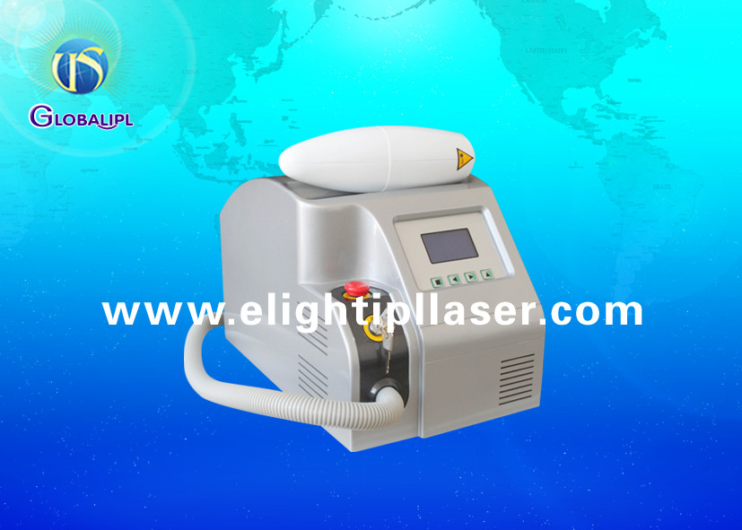 Permanent 532 nm / 1064 nm ND YAG Laser Machine , Laser Q Switch Tattoo Removal