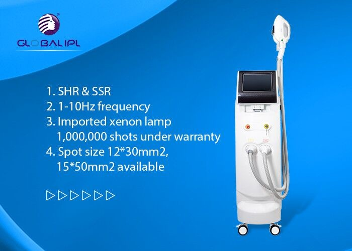 Medical CE Standard SHR IPL Machine For Hair Removal And Skin Rejuvenation