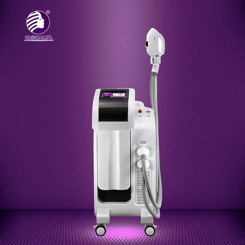 2500W IPL RF Beauty Equipment 1 - 50J / Cm2 Energy Density With Touch LCD Screen