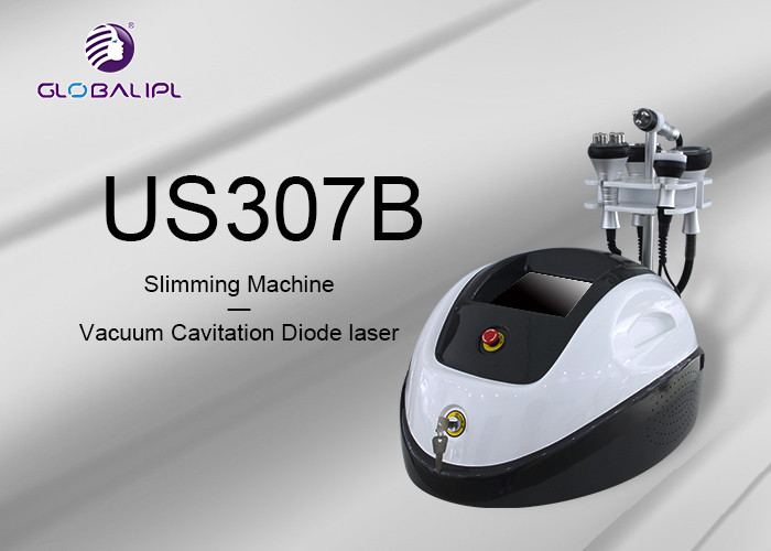 Tripolar RF 5 In 1 Ultrasonic Cavitation Slimming Machine For Wrinkle Removal