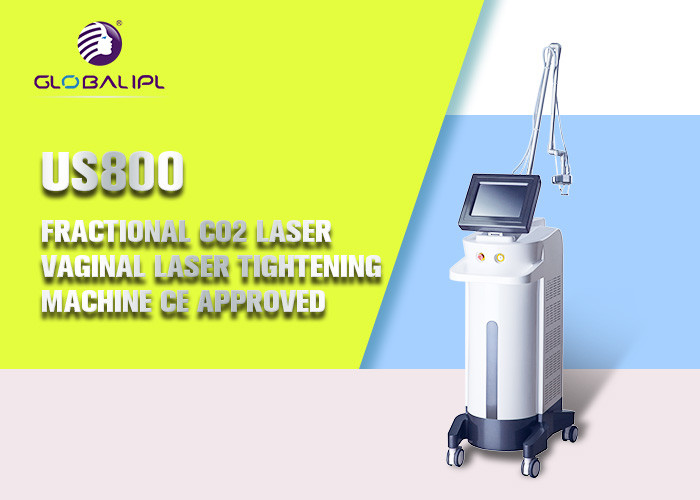 Gynaecology CO2 Fractional Laser Machine With 8.4 Inch Color Touch Screen
