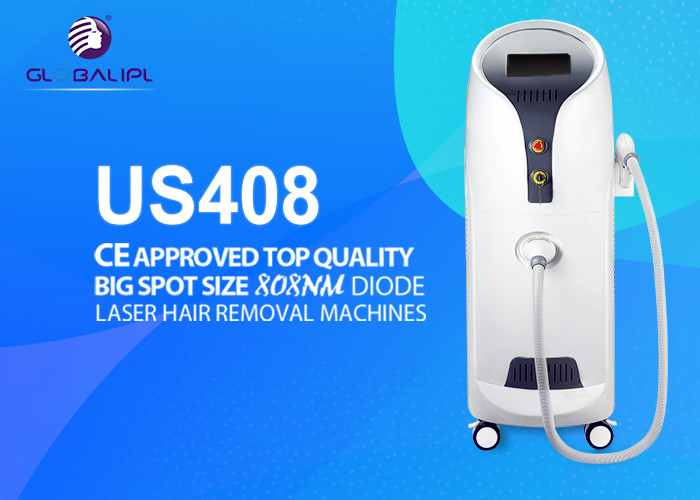 Professional Commercial Laser Hair Removal Machine Vertical 13*13mm2 / 13*39mm2