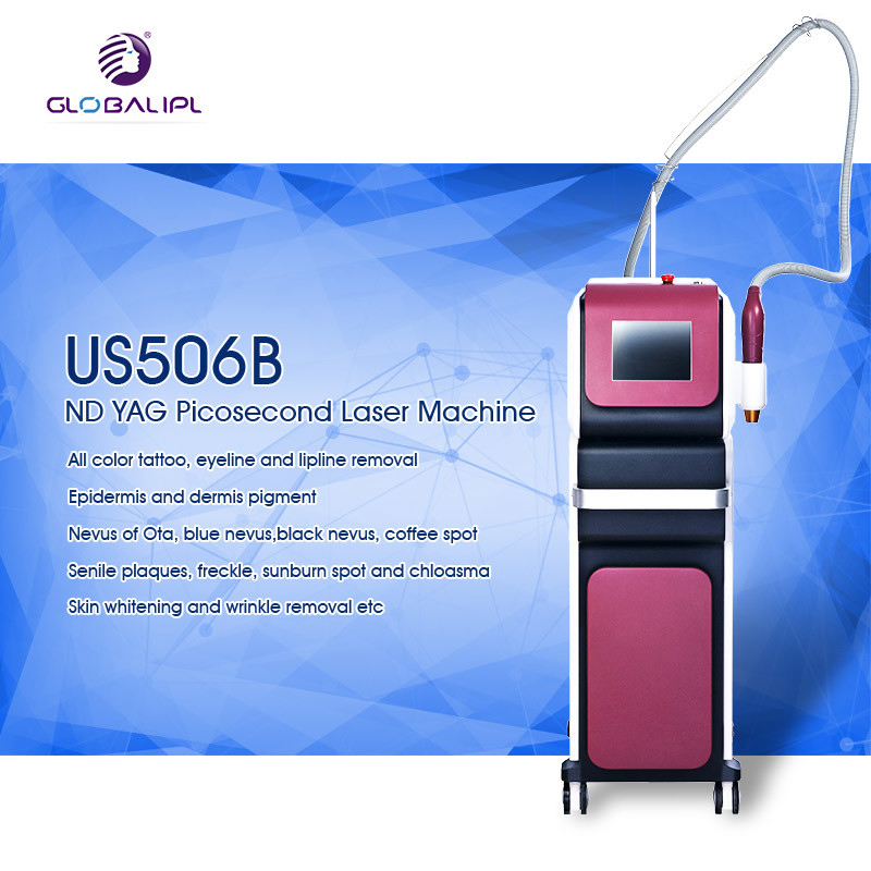 ND YAG Discovery Pico Laser Tattoo Removal Machine 15Hz Fast Repetition