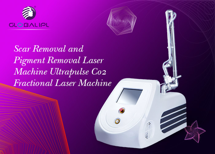 10600nm CO2 Fractional Laser Machine 6 Scan Modes For Wrinkles Removal