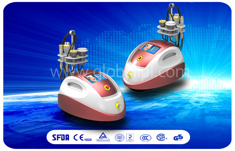 Portable Cavitation Slimming Machine , Ultrasonic 5 In 1 Beauty Machine
