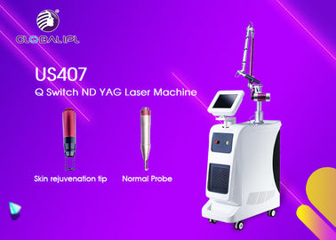 Machine de laser de ND YAG de commutateur du salon Q 600mj/300mj pour le retrait de tatouage